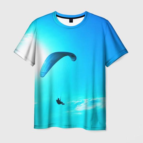 Мужская футболка 3D Прыжок