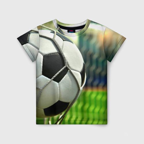 Детская футболка 3D Футбол