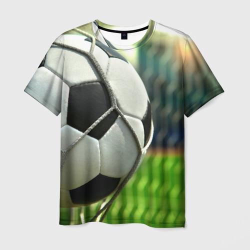 Мужская футболка 3D Футбол