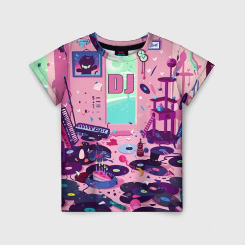 Детская футболка 3D DJ