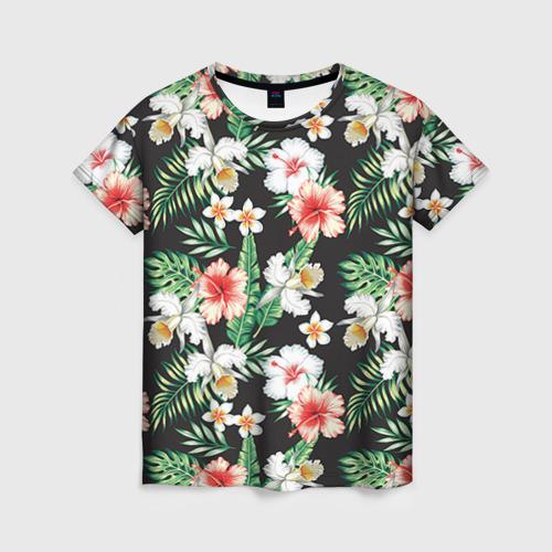Женская футболка 3D Фэшн 4