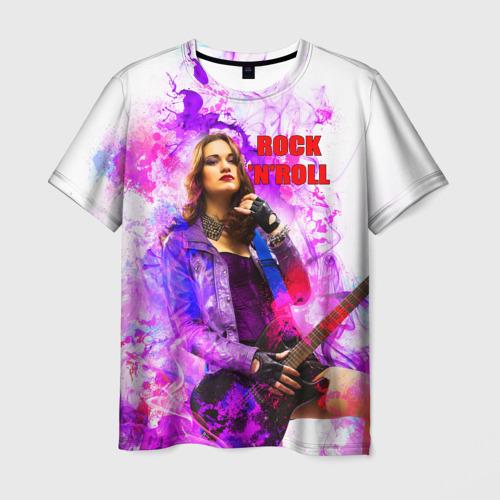 Мужская футболка 3D Rock-n-Roll