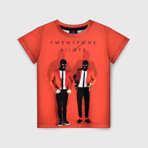 Детская футболка 3D TwentyONE PILOTS