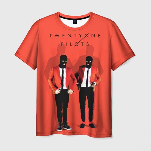 Мужская футболка 3D TwentyONE PILOTS