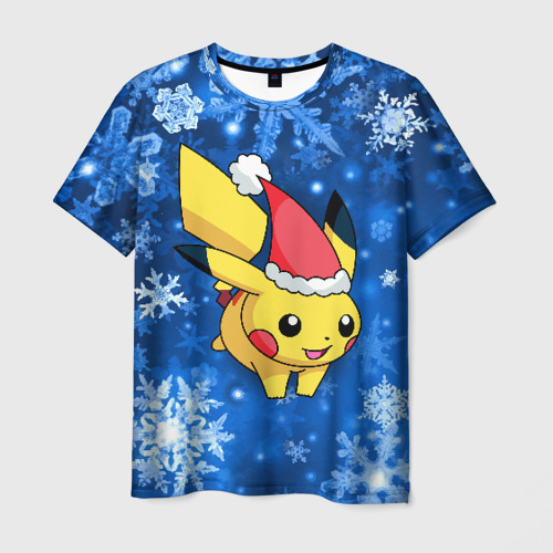 Мужская футболка 3D Pikachu