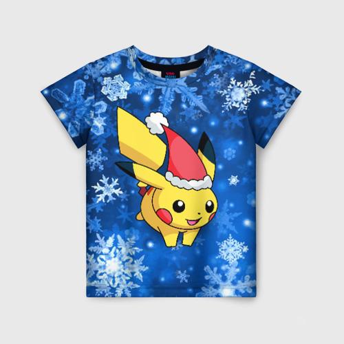 Детская футболка 3D Pikachu