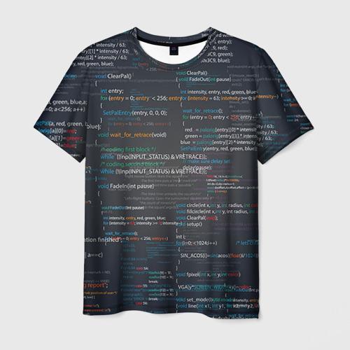 Мужская футболка 3D Программирование 9