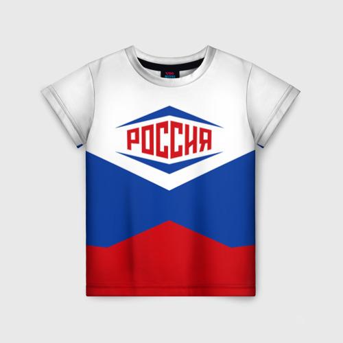 Детская футболка 3D Россия 2016