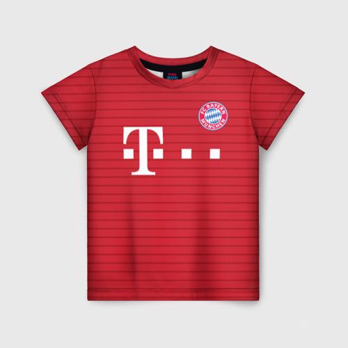 Детская футболка 3D Бавария (форма)
