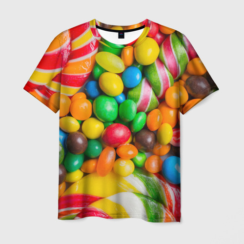 Мужская футболка 3D Сладкоежка