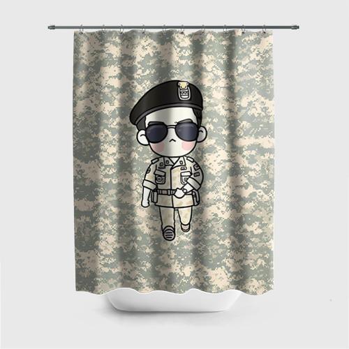 Штора 3D для ванной SONG JOONG KI