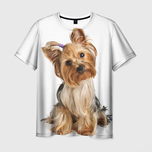 Мужская футболка 3D Красотка