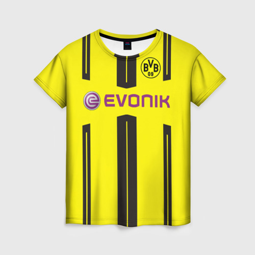 Женская футболка 3D Borussia Dortmund