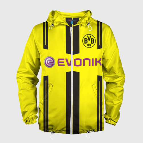 Мужская ветровка 3D Borussia Dortmund