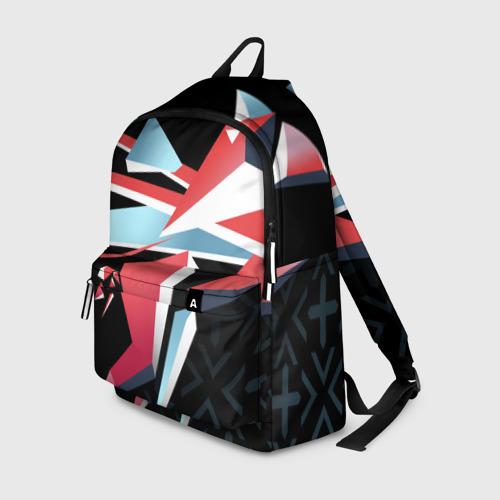 Рюкзак 3D cs:go - Point Disarray style 2 (Буйство красок)