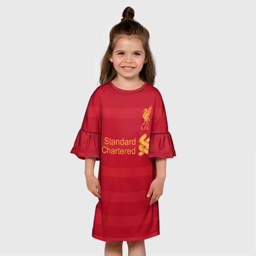 Детское платье 3D Ливерпуль (форма)