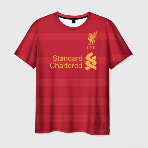 Мужская футболка 3D Ливерпуль (форма)