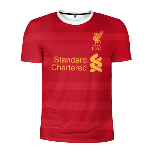 Мужская футболка 3D спортивная Ливерпуль (форма)