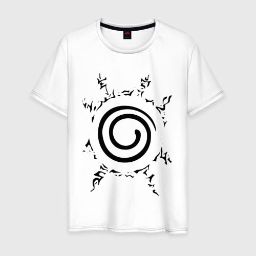 Мужская футболка хлопок Наруто - печать