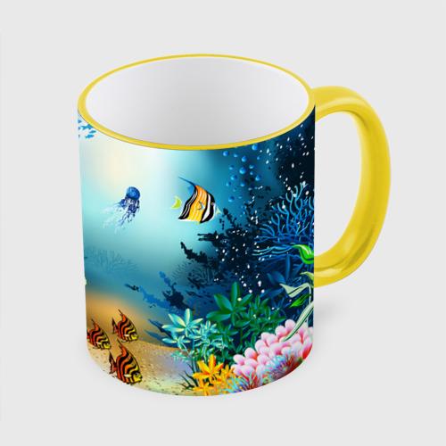 Кружка с полной запечаткой Золотая рыбка