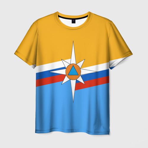 Мужская футболка 3D МЧС