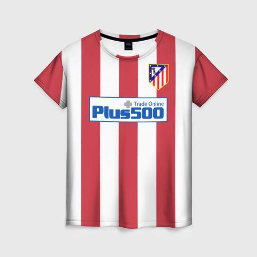 Женская футболка 3D Atletico