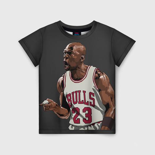 Детская футболка 3D Michael Jordan
