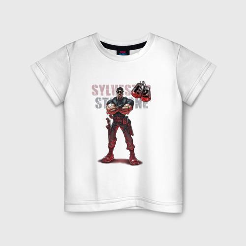 Детская футболка хлопок Сильвестр Сталлоне