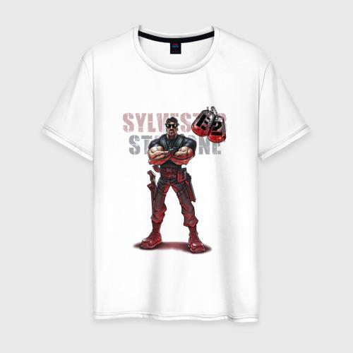 Мужская футболка хлопок Сильвестр Сталлоне