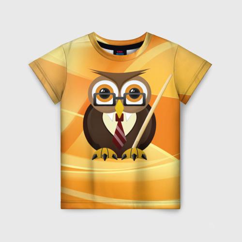 Детская футболка 3D Преподаватель