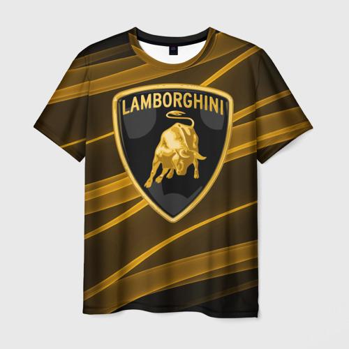 Мужская футболка 3D Ламборгини