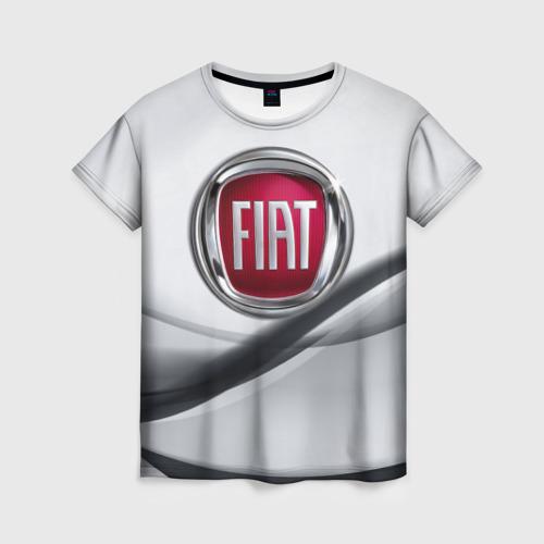 Женская футболка 3D FIAT