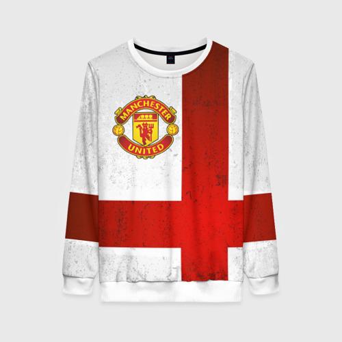 Женский свитшот 3D Manchester United FC