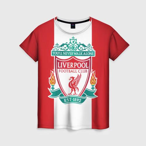 Женская футболка 3D Liverpool FC