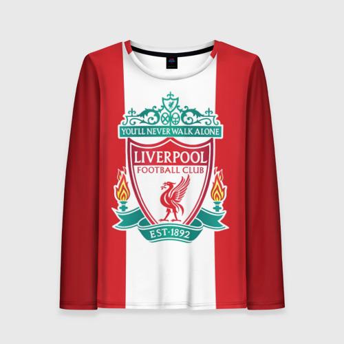 Женский лонгслив 3D Liverpool FC