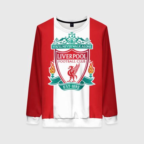 Женский свитшот 3D Liverpool FC