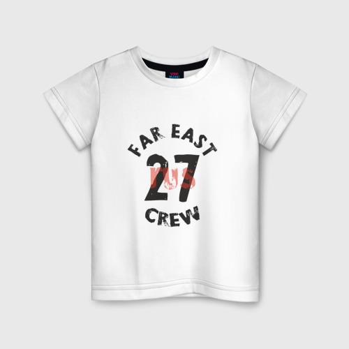 Детская футболка хлопок 27RUS