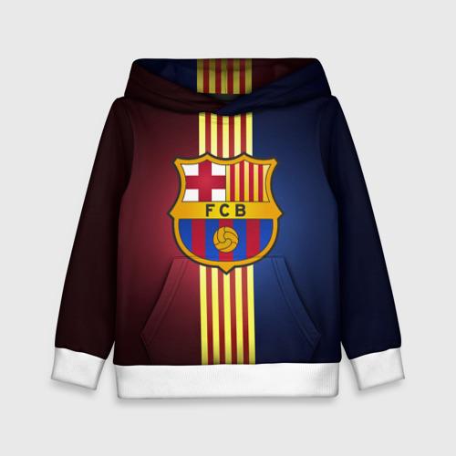 Детская толстовка 3D Barcelona FC