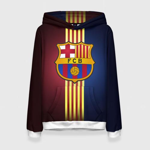 Женская толстовка 3D Barcelona FC