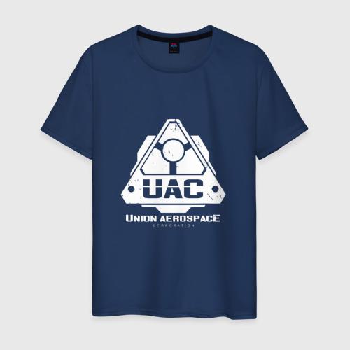 Мужская футболка хлопок UAC