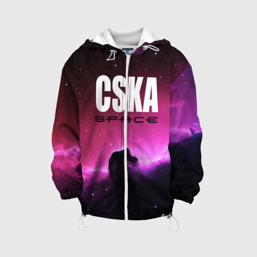 Детская куртка 3D CSKA space