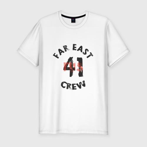 Мужская футболка хлопок Slim 41rus