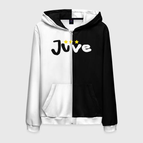 Мужская толстовка 3D на молнии Juventus