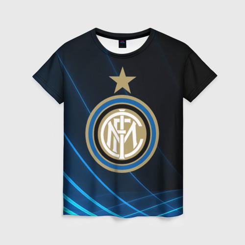 Женская футболка 3D Inter Milan