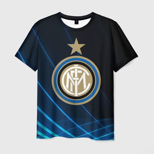 Мужская футболка 3D Inter Milan
