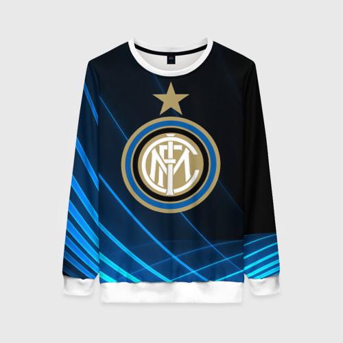Женский свитшот 3D Inter Milan