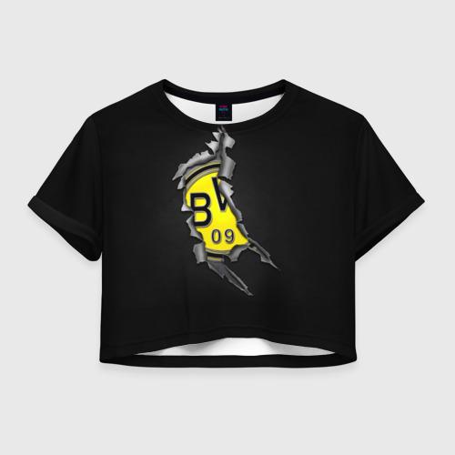 Женская футболка Crop-top 3D BVB
