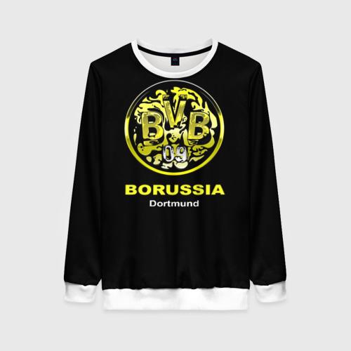 Женский свитшот 3D Borussia Dortmund