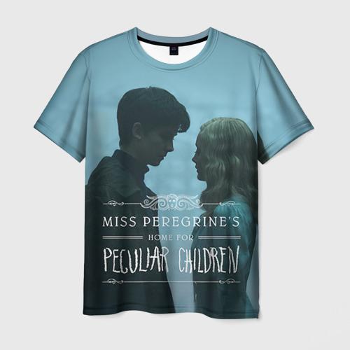 Мужская футболка 3D Джейкоб и Элла
