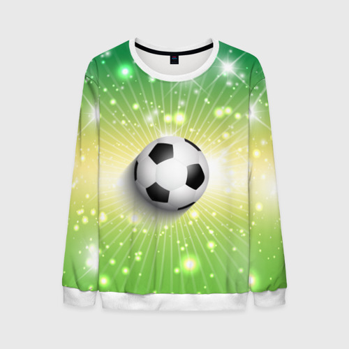 Мужской свитшот 3D Футбольный мяч 3
